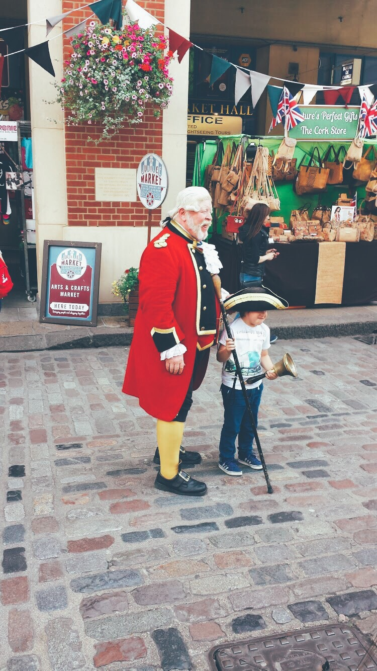 Jubilee Market Covent Garden Anniversary Town cryer