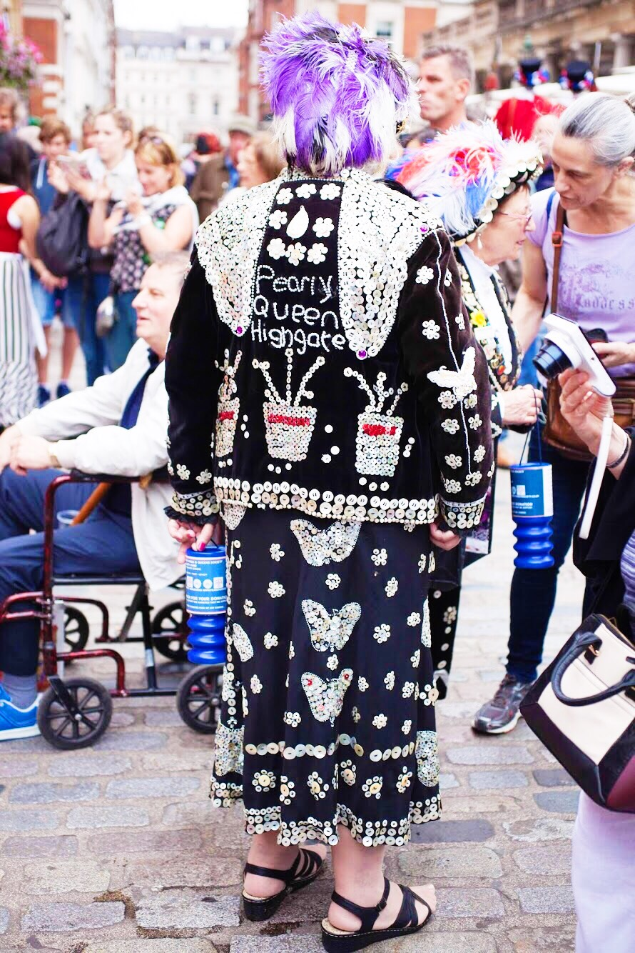 Jubilee Market Covent Garden Anniversary Pearly Queen